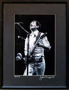 Carlos Santana Framed Vintage Print