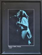 Bob Marley Framed Vintage Print