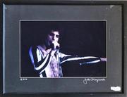 Freddie Mercury Framed Vintage Print