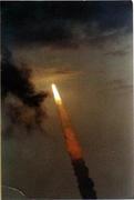 Space Shuttle Endeavor Vintage Print