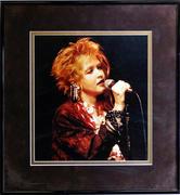 Cyndi Lauper Framed Vintage Print