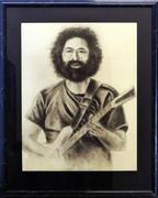 Jerry Garcia Framed Original Art