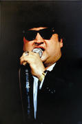 The Blues Brothers Wrapped Canvas