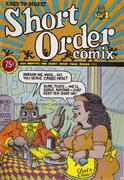 Short Order Comix #1 Comic Book