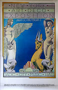 New York Arts Deco Exposition Poster