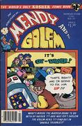 Mendy and the Golem Vol. 2 No. 4 Comic Book