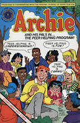 Archie and his Pals in the Peer Helping Program Vintage Comic