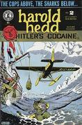 """Harold Hedd """"Hitler's Cocaine"""" #2 Vintage Comic"""