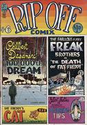 Rip Off Comix #6 Vintage Comic