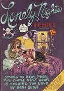 Lonely Nights Comics Vintage Comic