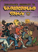 Illustrated Checklist to Underground Comix: Preliminary Edition Vintage Comic