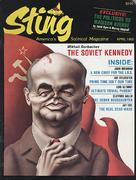 Sting Magazine April 1985 Vintage Magazine