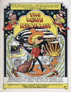 The Lone Recycler Vintage Comic