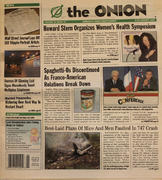 The Onion January 8, 2004 Magazine