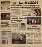 The Onion January 8, 2004 Magazine