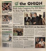 The Onion July 3, 2003 Magazine