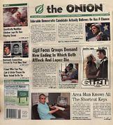 The Onion July 31, 2003 Magazine