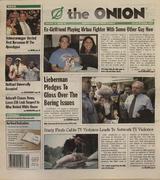 The Onion October 16, 2003 Magazine