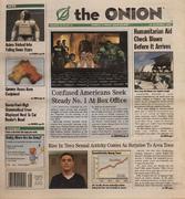 The Onion August 14, 2003 Magazine