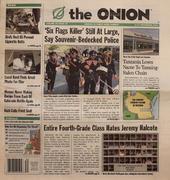 The Onion September 4, 2003 Magazine