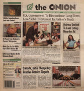 The Onion September 25, 2003 Magazine