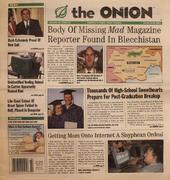The Onion June 13, 2002 Magazine