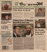 The Onion October 25, 2001 Magazine