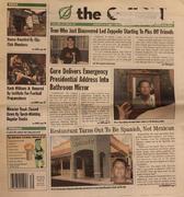 The Onion November 1, 2001 Magazine