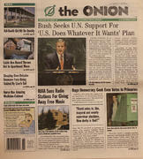 The Onion October 3, 2002 Magazine