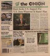 The Onion October 3, 2002 Magazine