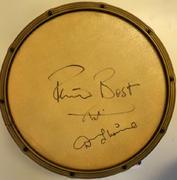 Pete Best Signed Mastro Plastic Drum Miscellaneous