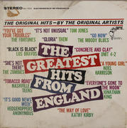 "The Greatest Hits From England Vinyl 12"" (Used)"