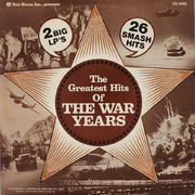 "The Greatest Hits of the War Years Vinyl 12"" (Used)"