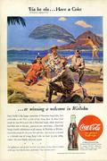 Coca-Cola: 'Eia Ke Ola...Have A Coke Vintage Ad