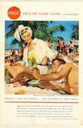 Coca-Cola: Sign Of Good Taste...Everywhere - Cuba Vintage Ad