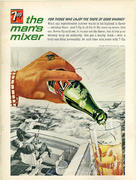 7up: The Man's Mixer Vintage Ad
