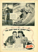 Pepsi-Cola: The Best Tune At Thirst Time Vintage Ad