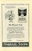 Campbell's Soup: The Women's Vote Vintage Ad
