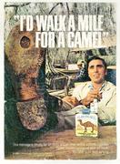 Camel: I'd Walk A Mile For A Camel Vintage Ad