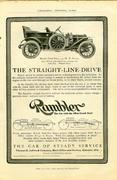 Rambler: Model Forty-Four Vintage Ad