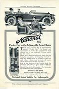 National Six: Parlor Car Vintage Ad