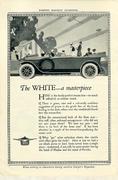 The White Vintage Ad