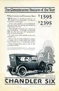 Chandler Six: The Royal Dispatch Vintage Ad