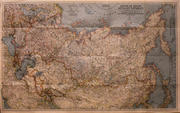 National Geographic U.S.S.R. Map Poster