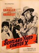Scotland Yard Contre X Poster