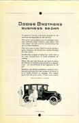 Dodge Brothers: Business Sedan Vintage Ad