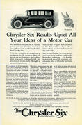 The Chrysler Six Vintage Ad