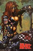 Heavy Metal: Biker Girl Poster
