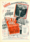 Pin Up Girl Vintage Ad