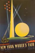 1939 New York World's Fair: The World of Tomorrow Poster